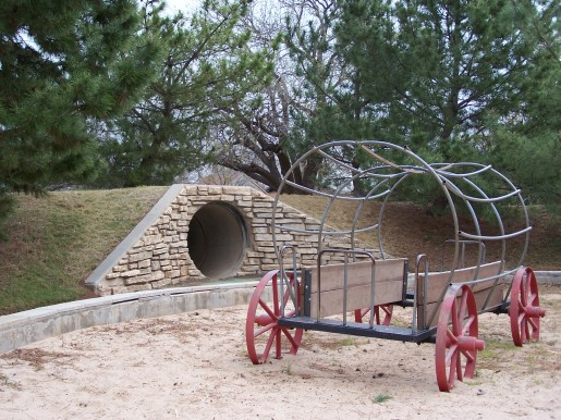 O'Reilly Park Wagon and Tunnel