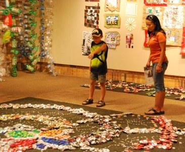The Juanita harvey Art Gallery at MSU